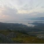 fin utsikte på Skardhaugen